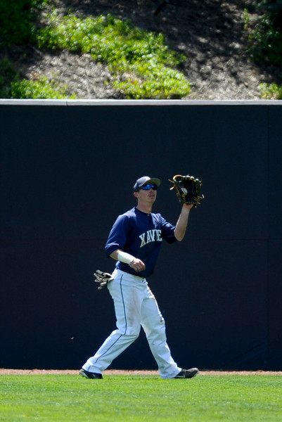NCAA baseball 2013 - April 20 -Charlotte at Xavier University