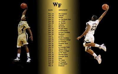 Basketball wallpaper-schedule 1680X1050
