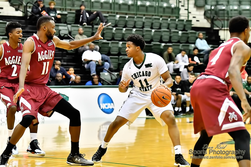 WAC: Chicago State vs New Mexico State January 7, 2017