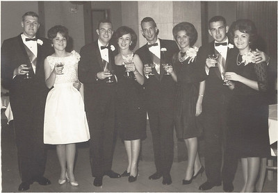 Pike Garnet & Gold formal at Birmingham hotel, date unsure