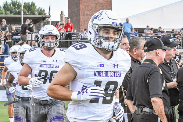 Northwestern 31, Purdue 27