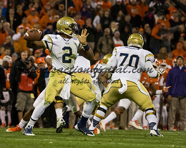 Georgia Tech Yellow Jackets quarterback Vad Lee (2)
