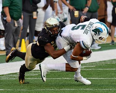 Nate Mays tackles Encalade