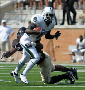 J Jones tackles Baylor receiver