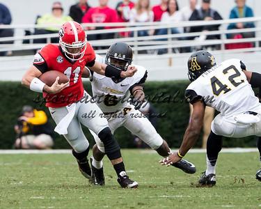 Georgia Bulldogs quarterback Aaron Murray (11)