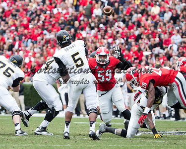 Appalachian State Mountaineers quarterback Kameron Bryant (5) passes the ball