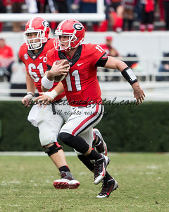 Georgia Bulldogs quarterback Aaron Murray (11)
