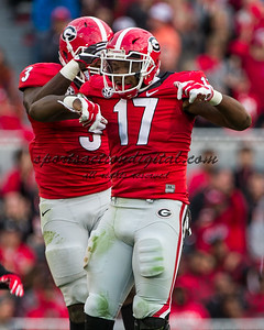 Roquan Smith, Davin Bellamy