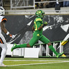 Oregon running back Jaylon Redd scores in the first half of the Ducks' win over Oregon State in the Civil War game.