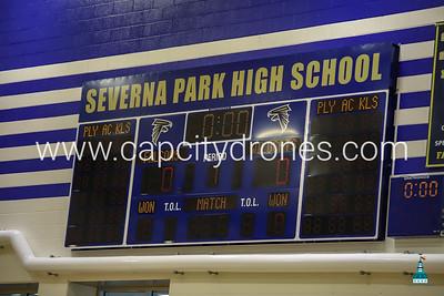 Volleyball Severna Park HS vs Arundel  HS