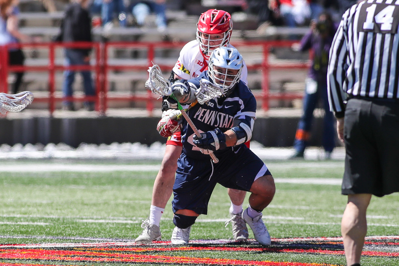 NCAA LACROSSE: Penn State at Maryland