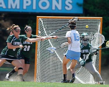 Loyola at UNC Ladies 5-21-2011