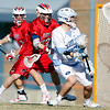 UNC defeats Robert Morris 14 to 11 in the season opener today at Fetzer field in Chapel Hill, NC.