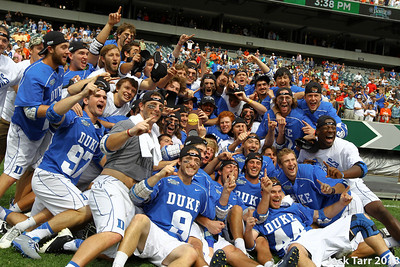 Duke Defeats Syracuse 16 to 10 to win the 2013 NCAA Men's Lacrosse National Championship at Lincoln Financial Field in Philadelphia, PA Monday May 27, 2013. (photo by Jack Tarr)