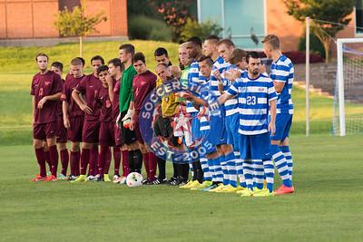 VA Tech falls 1-3 at SLU Billikens in NCAA D1 Mens Soccer 31 Aug 2014