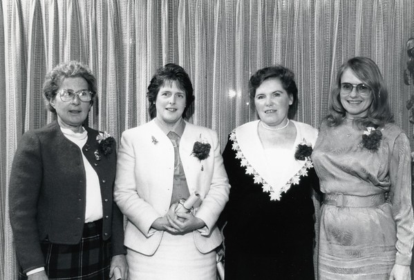 Christmas Awards, Faculty and Staff 1988