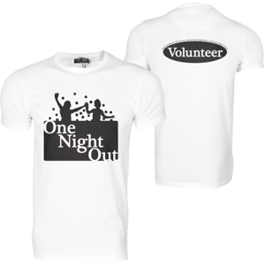 One Night Out Volunteer Shirt Design