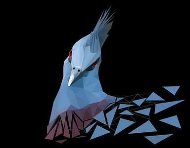 Polygon Bird 2