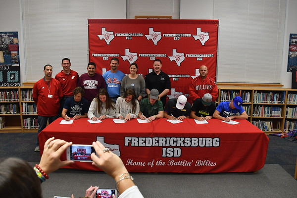 College Signings 11-15-17