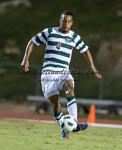 Number 8 ranked Charlotte beats number 16 ranked Coastal Carolina 1-0 on a goal by Thomas Allen in the 101st minute during the second overtime.  Biko Bradnock-Brennan (4)