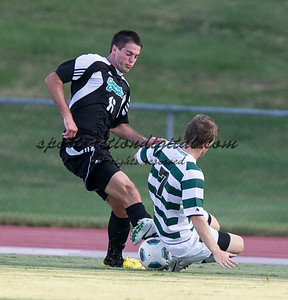 Number 8 ranked Charlotte beats number 16 ranked Coastal Carolina 1-0 on a goal by Thomas Allen in the 101st minute during the second overtime.  Owen Darby (7), Nick May (16)