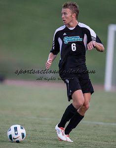 Number 8 ranked Charlotte beats number 16 ranked Coastal Carolina 1-0 on a goal by Thomas Allen in the 101st minute during the second overtime.  Justin Portillo (8)