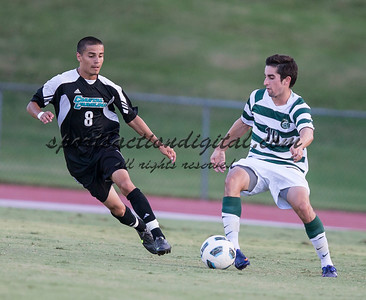 Number 8 ranked Charlotte beats number 16 ranked Coastal Carolina 1-0 on a goal by Thomas Allen in the 101st minute during the second overtime.  Justin Portillo (8), Tyler Gibson (10)