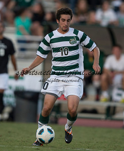 The number 5 ranked Charlotte 49ers play the University of South Carolina Gamecocks at Transamerica field in Charlotte.  Charlotte won 3-2 in the second overtime.  Tyler Gibson (10)