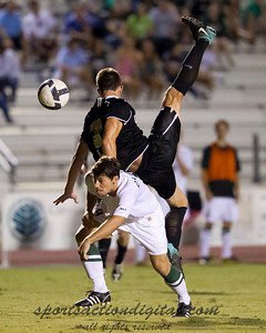 Charlotte's TJ Beaulieu upends Wake Forest's Luciano Delbono