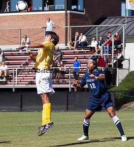 Winthrop University plays Liberty University in a Big South contest at Eagle Field.  Winthrop tied the game 1-1 on a penalty kick with 28 seconds left in regulation.  The game ended as a 1-1 tie.