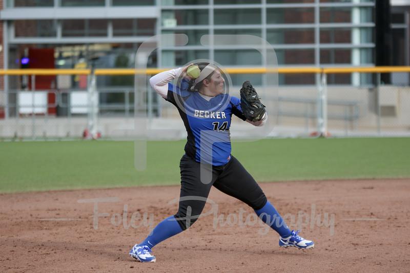 Becker College Hawks shortstop Megan Klemanchuck (14)