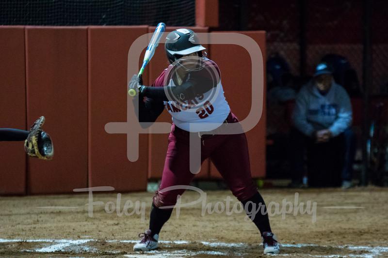 Anna Maria Amcats third baseman Sabrina Carreira (20)