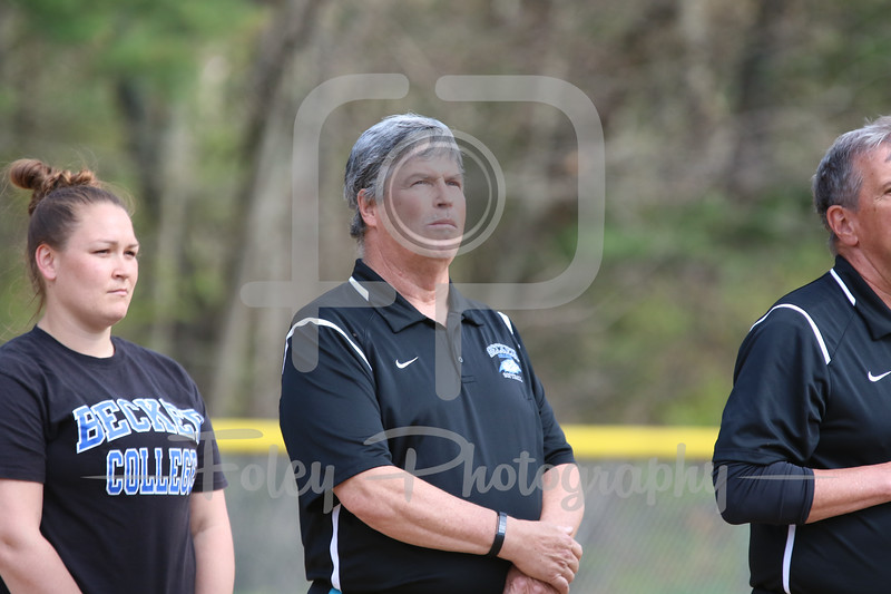 Becker College Hawks assistant coach Tim Conway