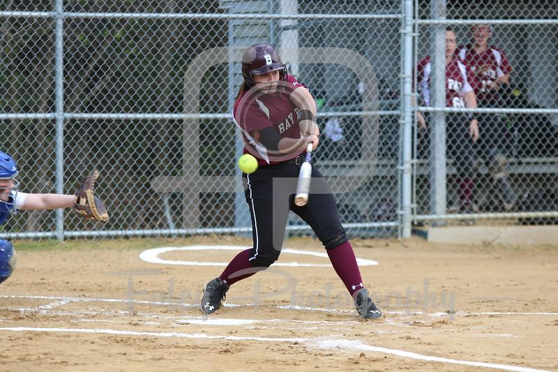 Bay Path WIldcats shortstop Lauren Vallee (12)