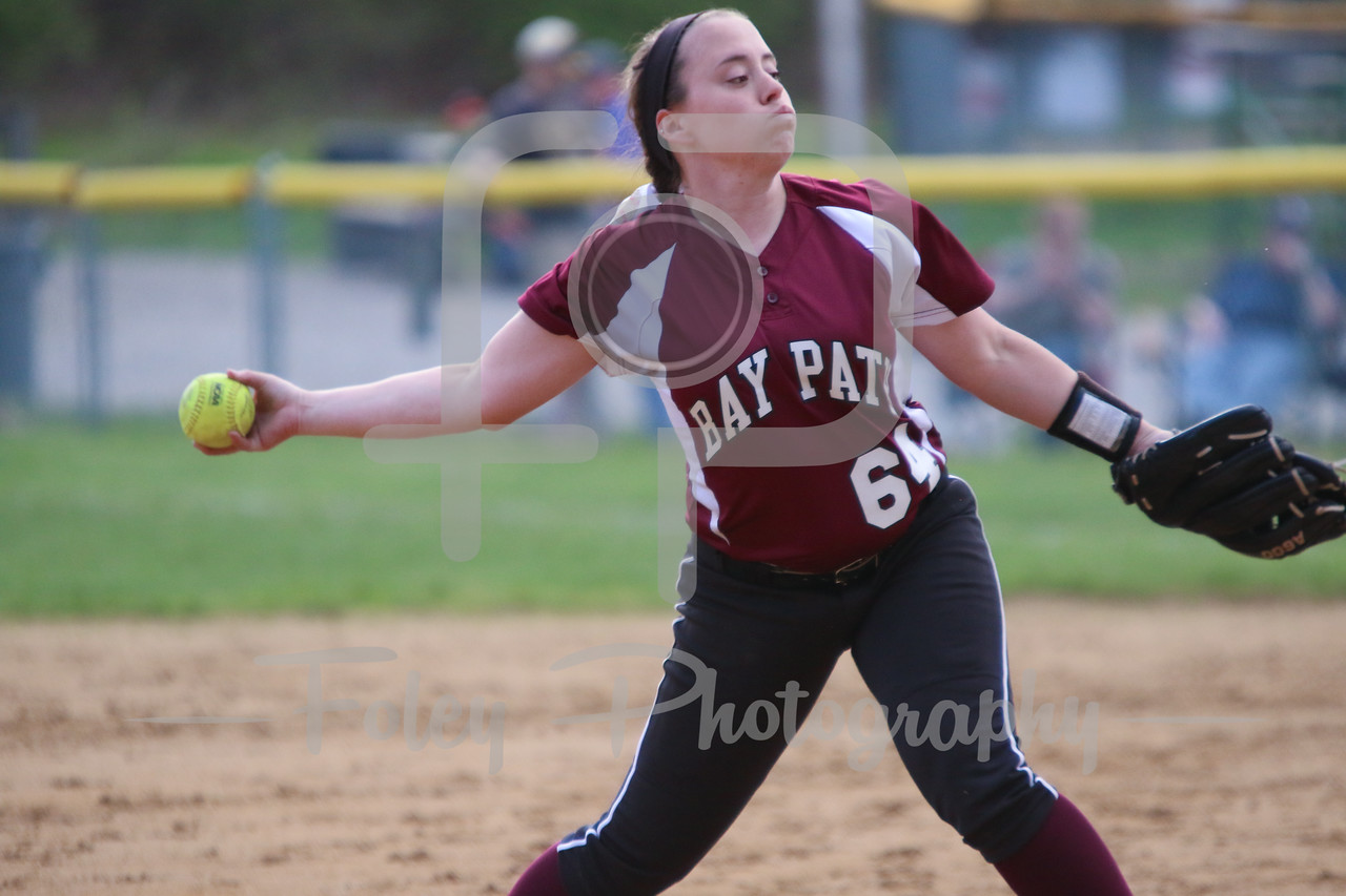 Bay Path WIldcats pitcher Madison Goodhart (64)