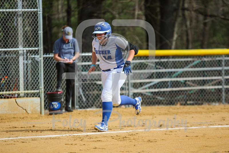 Becker College Hawks catcher Megan Klemanchuck (14)