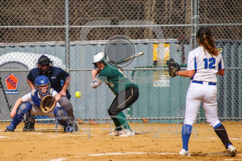 Becker College Hawks Samantha Lee (12) Becker College Hawks shortstop Lauren Niemann (7) Newbury College Nighthawks Noelle Sass (17)