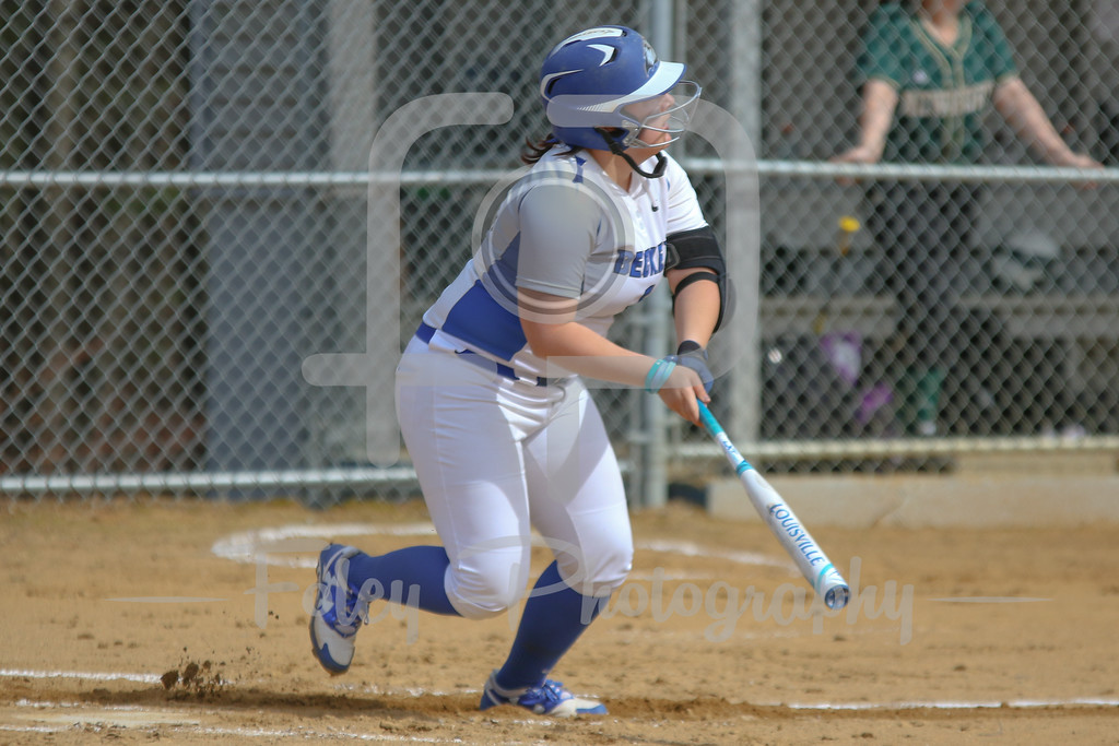 Becker College Hawks catcher Megan Klemanchuck (14)