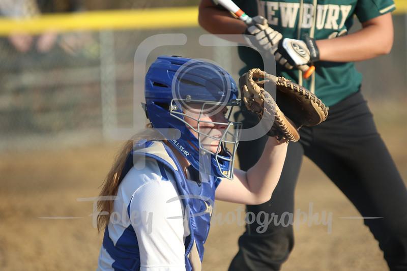 Becker College Hawks shortstop Lauren Niemann (7)