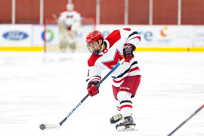 Maryville Saints Men's D2 Ice Hockey cruised to a 8–1 victory over cross-river rivals McKendree Bearcats