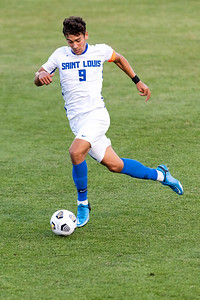 University of Illinois-Chicago Flames came back from a 2–0 deficit to claim a late 2–2 draw against the SLU Billikens.
