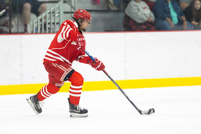 In the second college overtime game of the weekend at Maryville University Hockey Center, the Maryville Saints Women's Ice Hockey team found twine twice in OT; the first goal waved off, but the second to secure a 3–2 victory over Miami (OH).