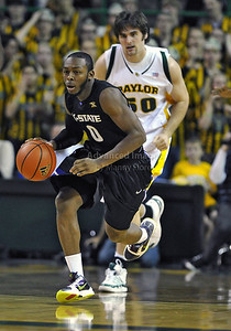Jan 26th, 2010:   Kansas State Jacos Pullen #0 G in action in a NCAA basketball game between the Kansas State Wildcats and the Baylor Bears at the Ferrell Coliseum in Waco, Texas. Kansas State wins 76-74