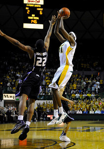 Jan 26th, 2010:   Baylor F Anthony Jones #41 stops and shoots in a NCAA basketball game between the Kansas State Wildcats and the Baylor Bears at the Ferrell Coliseum in Waco, Texas. Kansas State wins 76-74