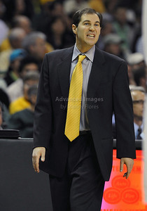Jan 26th, 2010:   Baylor Head Coach Scott Drew in action in a NCAA basketball game between the Kansas State Wildcats and the Baylor Bears at the Ferrell Coliseum in Waco, Texas. Kansas State wins 76-74