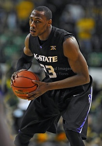 Jan 26th, 2010:   Kansas State Wally Judge #33 F in action  in a NCAA basketball game between the Kansas State Wildcats and the Baylor Bears at the Ferrell Coliseum in Waco, Texas. Kansas State wins 76-74