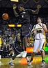 Jan 26th, 2010:  <br /> Kansas State Jordan Henriquez #2 F in action<br /> in a NCAA basketball game between the Kansas State Wildcats and the Baylor Bears at the Ferrell Coliseum in Waco, Texas.<br /> Kansas State wins 76-74