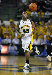 Jan 26th, 2010:   Baylor G Tweety Carter #45 in action in a NCAA basketball game between the Kansas State Wildcats and the Baylor Bears at the Ferrell Coliseum in Waco, Texas. Kansas State wins 76-74