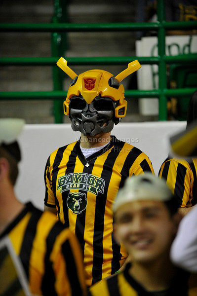 Jan 26th, 2010:  <br /> Baylor Bear fans cheering for their team<br /> in a NCAA basketball game between the Kansas State Wildcats and the Baylor Bears at the Ferrell Coliseum in Waco, Texas.<br /> Kansas State wins 76-74