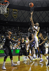 Jan 26th, 2010:   Baylor Lacedarius Dunn #24 G in action in a NCAA basketball game between the Kansas State Wildcats and the Baylor Bears at the Ferrell Coliseum in Waco, Texas. Kansas State wins 76-74